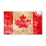 Canada Flag 22x14 Wall Peel