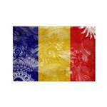 Chad Flag Rectangle Magnet (100 pack)