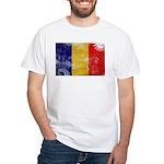 Chad Flag White T-Shirt