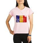 Chad Flag Performance Dry T-Shirt