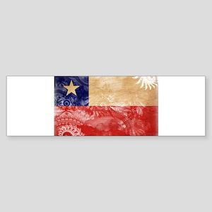 Chile Flag Sticker (Bumper)