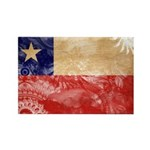 Chile Flag Rectangle Magnet (100 pack)