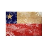 Chile Flag Rectangle Magnet
