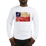 Chile Flag Long Sleeve T-Shirt