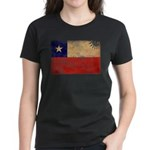Chile Flag Women's Dark T-Shirt