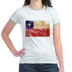 Chile Flag Jr. Ringer T-Shirt