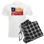 Chile Flag Men's Light Pajamas
