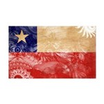 Chile Flag 38.5 x 24.5 Wall Peel