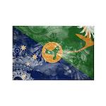 Christmas Island Flag Rectangle Magnet (100 pack)