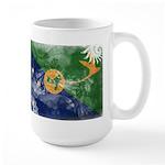 Christmas Island Flag Large Mug