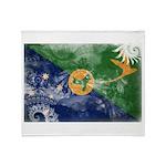 Christmas Island Flag Throw Blanket