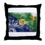Christmas Island Flag Throw Pillow