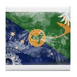 Christmas Island Flag Tile Coaster