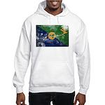 Christmas Island Flag Hooded Sweatshirt