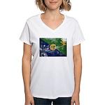 Christmas Island Flag Women's V-Neck T-Shirt