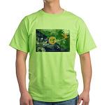 Christmas Island Flag Green T-Shirt