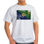 Christmas Island Flag Light T-Shirt