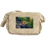 Christmas Island Flag Messenger Bag