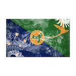 Christmas Island Flag 38.5 x 24.5 Wall Peel