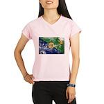Christmas Island Flag Performance Dry T-Shirt