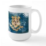 Connecticut Flag Large Mug