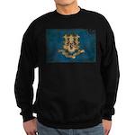 Connecticut Flag Sweatshirt (dark)