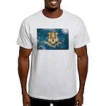 Connecticut Flag Light T-Shirt