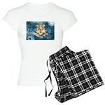 Connecticut Flag Women's Light Pajamas