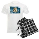Connecticut Flag Men's Light Pajamas