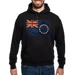 Cook Islands Flag Hoodie (dark)