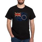Cook Islands Flag Dark T-Shirt
