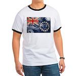 Cook Islands Flag Ringer T