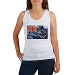 Cook Islands Flag Women's Tank Top
