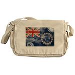 Cook Islands Flag Messenger Bag