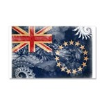 Cook Islands Flag Car Magnet 20 x 12
