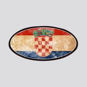 Croatia Flag Patches