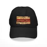 District of Columbia Flag Black Cap