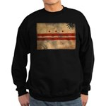 District of Columbia Flag Sweatshirt (dark)