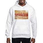 District of Columbia Flag Hooded Sweatshirt