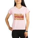 District of Columbia Flag Performance Dry T-Shirt
