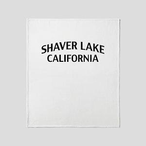 Shaver Lake California Throw Blanket