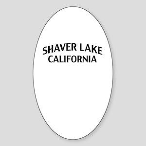 Shaver Lake California Sticker (Oval)
