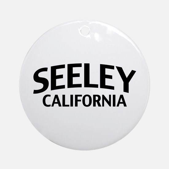 Seeley California Ornament (Round)