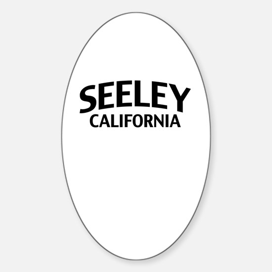 Seeley California Sticker (Oval)