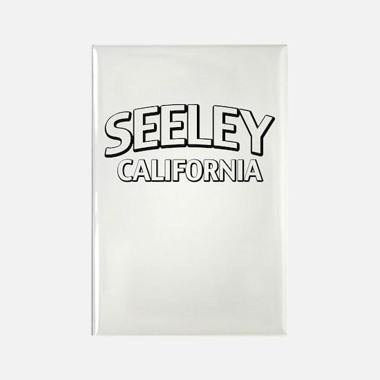 Seeley California Rectangle Magnet