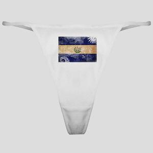 El Salvador Flag Classic Thong