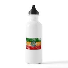 Ethiopia Flag Water Bottle