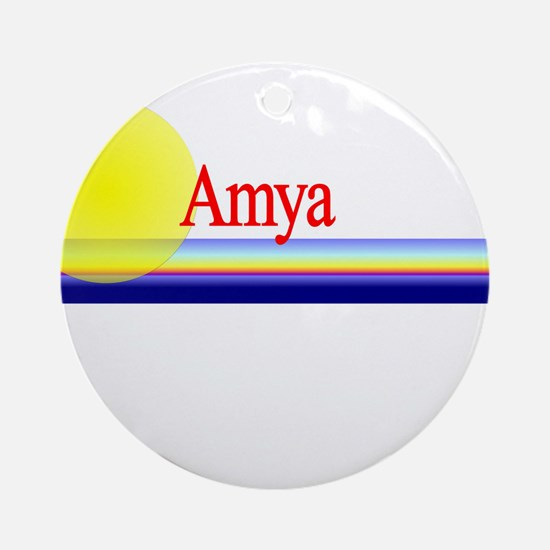 Amya Ornament (Round)