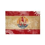 French Polynesia Flag Rectangle Magnet (10 pack)