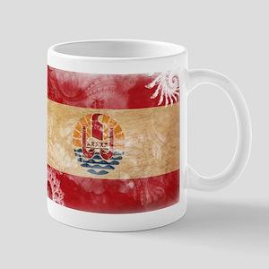 French Polynesia Flag Mug